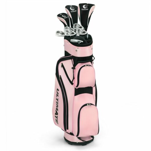 Womens Golf Club Iron Set with Stand Bag