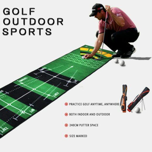 Golf Practice Carpet. Golf Outdoor Sports.