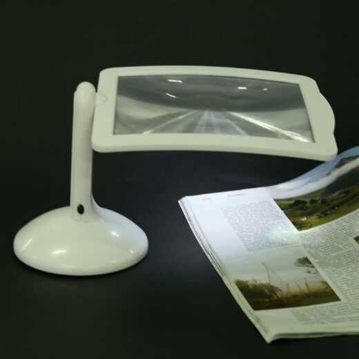 LED Reading Reading Lamp with Magnifying Glass 3X