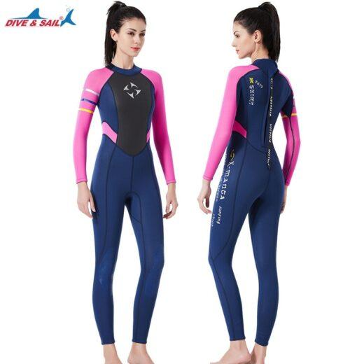 Women Full Body Wetsuit 3mm