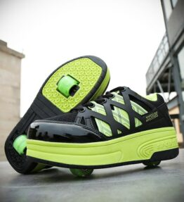 Junior Roller Skate Shoes with Two Wheels