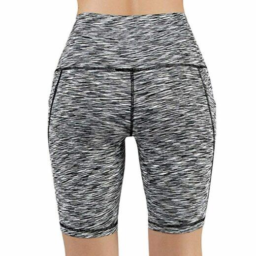 Yoga Sport Running Shorts Women High Waist