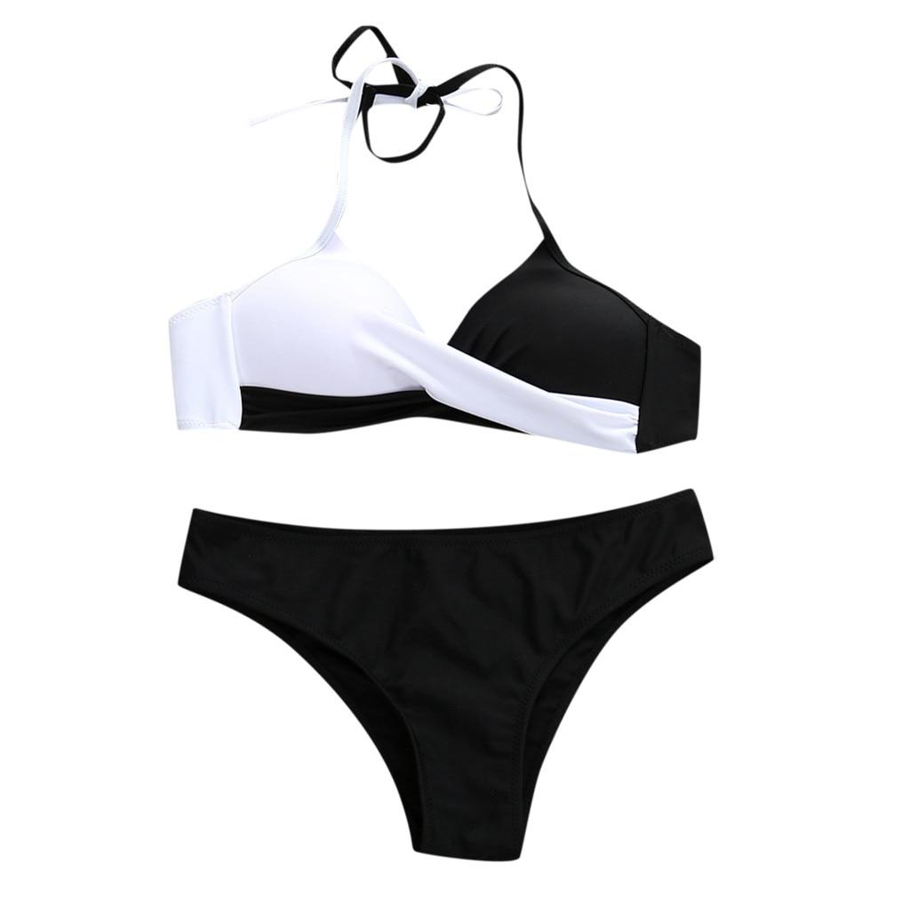 Swimsuit Bikinis Set Cover Womens Padded Push-up Bra Bikini Set Swimsuit Bathing Suit Swimwear Beachwear Bikinis 2021 Mujer