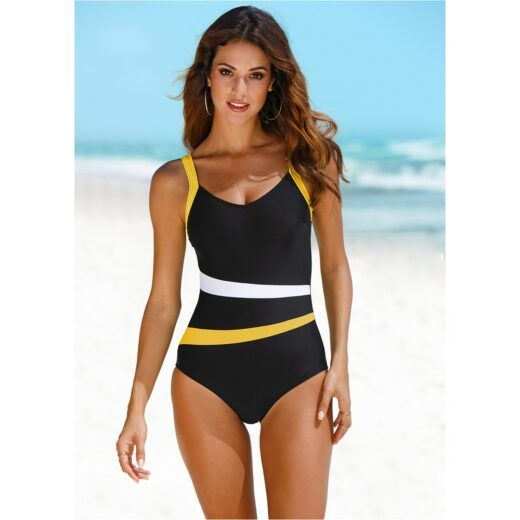 2021 New One Piece Swimsuit Plus Size Swimwear Women Classic Vintage Bathing Suits Beachwear Backless Slim Swim Wear M~2XL