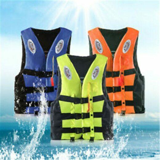 Life Jacket Fishing Swimming Outdoor Life Vest Kayak Boating For Adult Water Sport Vest Drifting Life Jacket Sailing Bearing
