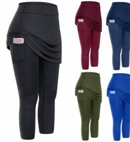 Skirt Leggings with Pocket