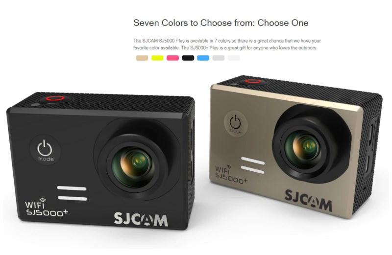 SJCAM 5000 Plus WiFi Seven colors to choose