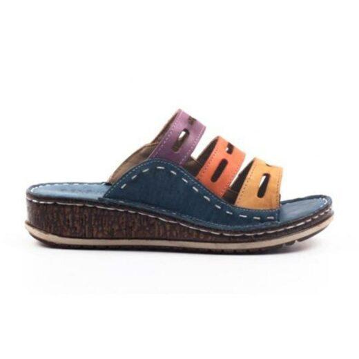Summer Slippers Blue